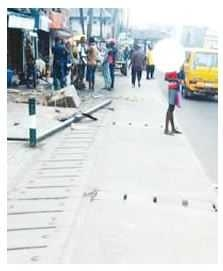 Lagos residents find dead man inside bag of rice